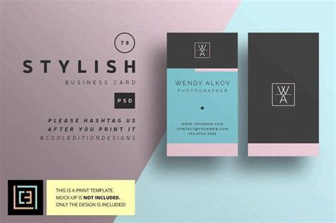 multi color business card designs templates psd