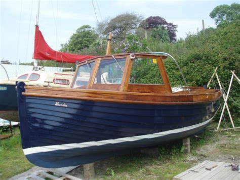 Small Boats For Sale Plymouth by 21 Plymouth Harbour Wooden Launch For Sale