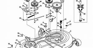 Wiring Diagram  5 Craftsman 46 Mower Deck Belt Diagram