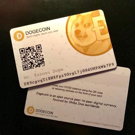 dogecoin crypto cards wow dogecoin