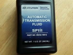 2004 Hyundai Santa Fe Automatic Transmission