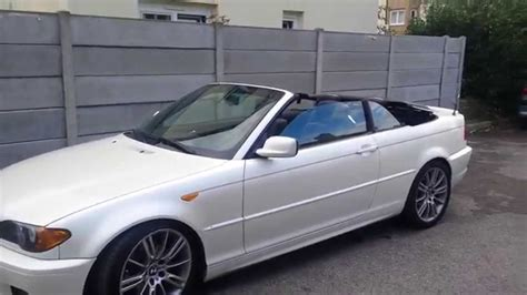 bmw convertible roof open  closes  key fob youtube