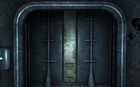 Fallout Vault Door Done By Me In 3d!