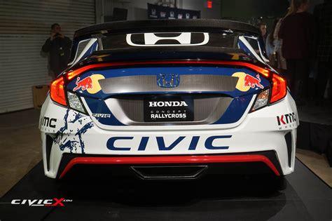 honda debuts hp  civic coupe racing livery