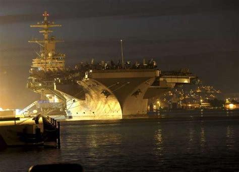 diaporama le port de marseille accueille le plus grand porte avions du monde la provence