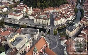 Prešernov trg & Mestni trg from Ljubljana (Slovenia)
