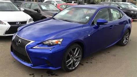 Lexus Is 250 Blue new ultrasonic blue 2015 lexus is 250 awd f sport series 3
