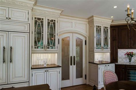 White Kitchen Doors With Glass Inserts Deductour Com