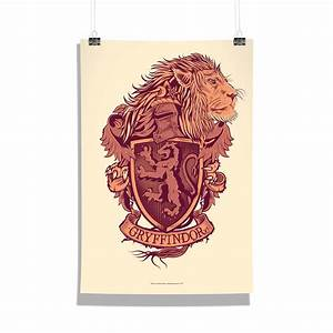 Harry Potter Gryffindor Poster Print Art Licensed By