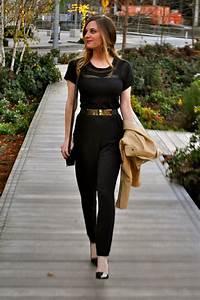 Black Jumpsuit Outfit