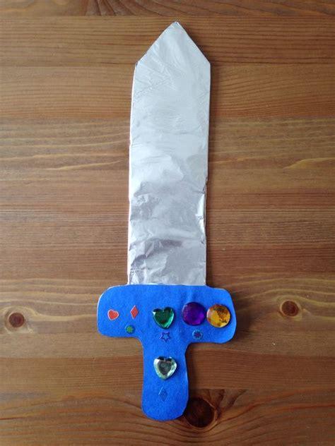 Sword Craft  Preschool Craft  Kids Crafts & Activities