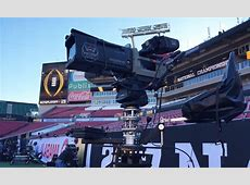 Live From CFP Championship ESPN Deploys 'Mammoth' Camera