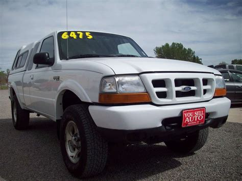 2000 Ford Ranger Xlt 4x4 Sold