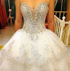 princess wedding dresses with bling sangmaestro With blingy wedding dresses