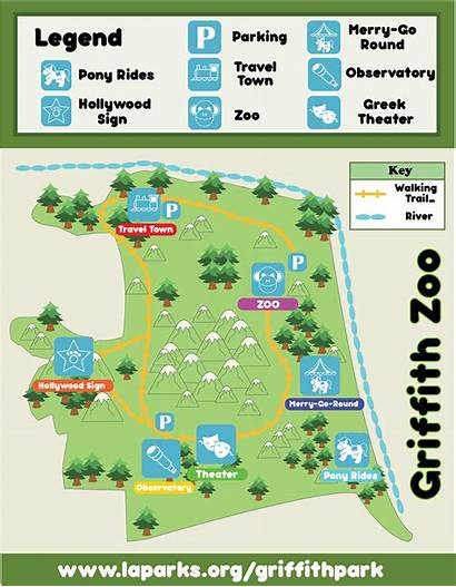 Zoo Map Griffith Behance Layout Project