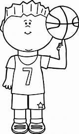 Coloring Basketball Player Balancing Exclusive Finger Colorir Child Desenhos Albanysinsanity Boys Boy Sports sketch template