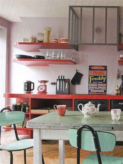 cuisine style retro meubles déco et ambiances vintage des ées 50 à 70 style rétro cuisine des
