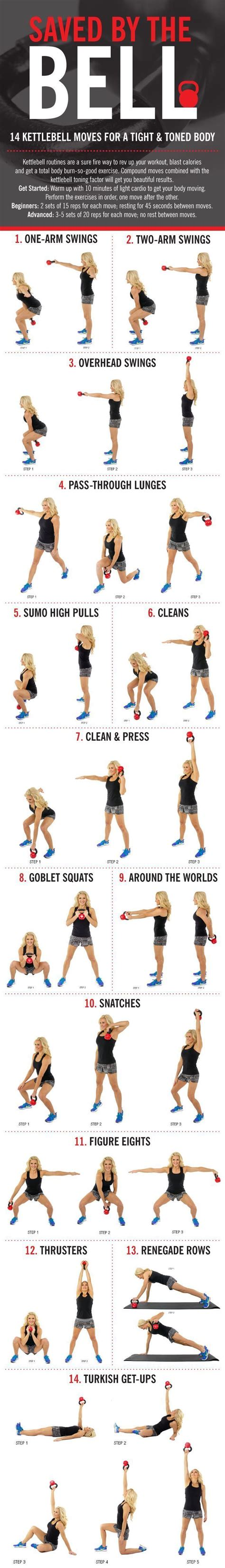kettlebell body toned moves tight workout bell exercises kettle kettlebells exercise workouts ball skinny fitness bells mom tone swing training