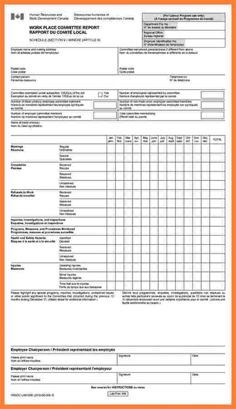 health  safety audit report template progress report