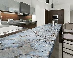 Crystal Quartz Kitchen Countertop - StoneADD Photo