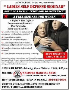 Free Women's Self-Defense Seminar at Waldorf Martial Arts ...