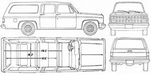 car blueprints chevrolet suburban blueprints vector With 1970 chevy step van