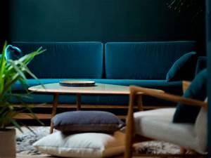 Canapé Velours Bleu Canard : red edition le moodboard de la nouvelle collection goodmoods ~ Teatrodelosmanantiales.com Idées de Décoration