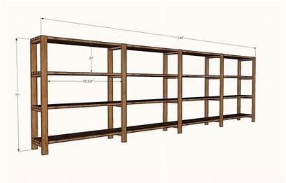 Shelving Garage Storage Shelves Plans Ana Diy