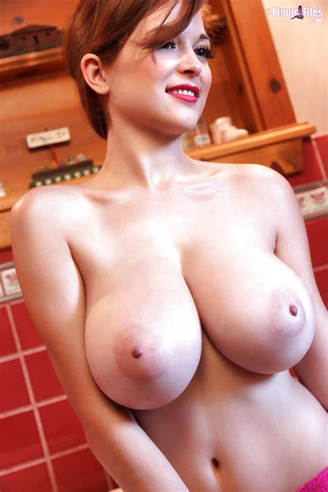 Gorgeous Red Head Babe Tessa Fowler Reveals Her Fantastically big tits