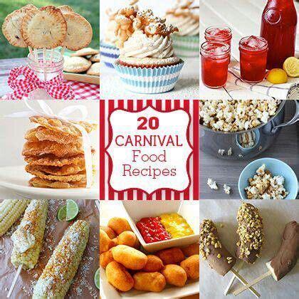 carnival food ideas carnival food carnival birthday party pinterest