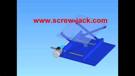 Make A Small Scissor Lift Drive System With A Electric