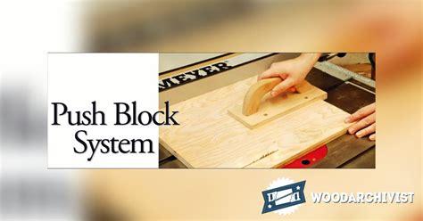 table  push block system woodarchivist