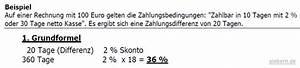 2 Skonto Berechnen : bezugskalkulation 2 teil ~ Themetempest.com Abrechnung