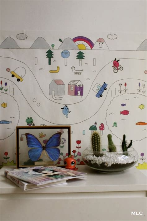 coloriage enfant papier peint pour chambre enfant d 233 co