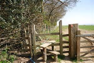 Stile on the 1066 Country Walk © N Chadwick :: Geograph ...