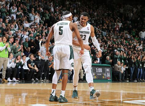 michigan state basketball  spartans add