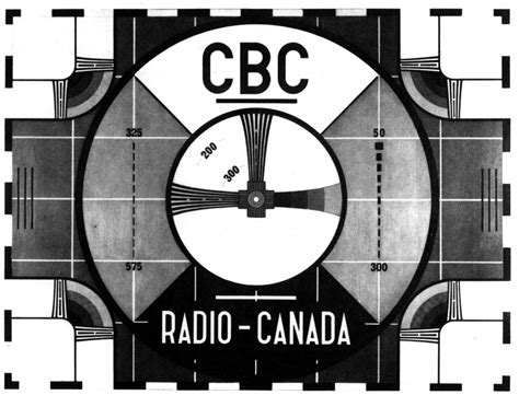 Test Pattern - test pattern tv test patterns canada eh