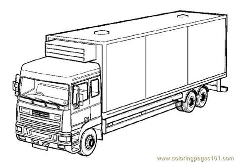 truck coloring page  coloring page  land transport