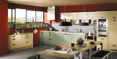 deco nature chambre cuisine en bois naturel photo 18 25 ambiance bi colore