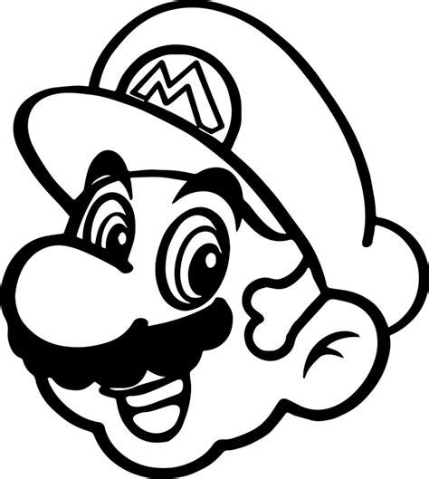Mario 64 Coloring Pages Mario 64 Free Coloring Pages