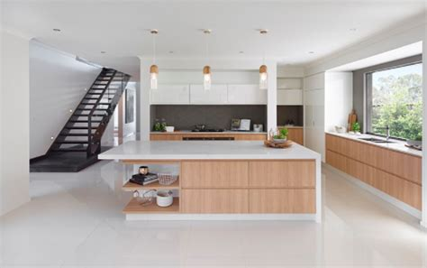 modern white kitchen design contemporary kitchen design trends of 2018 ibuildnew 7791