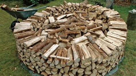stack firewood outdoor firewood rack