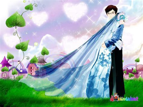 gambar animasi bidadari surga