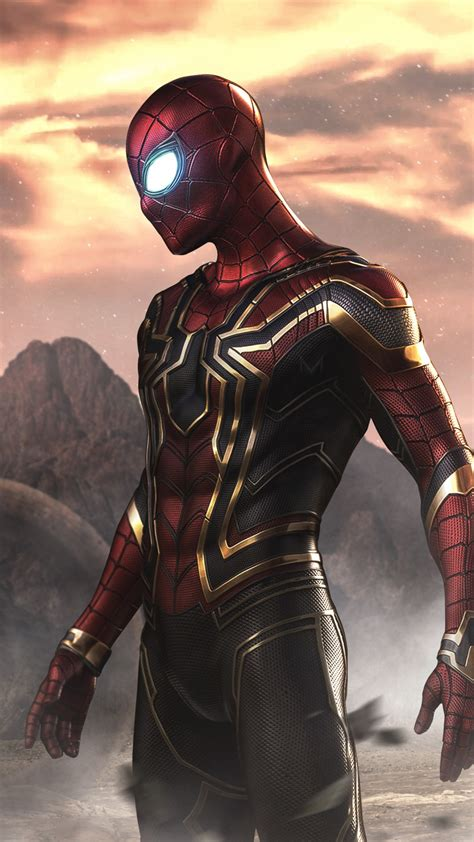 Iron Spider Background by Spider As Iron Spider 4k Wallpapers Hd Wallpapers