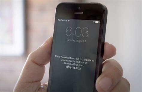 what to do if your iphone is lost or stolen