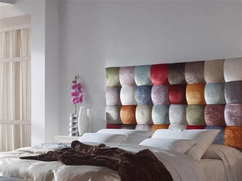 tissus pour canape tãªte de lit garnie en tissu style patchwork mod venezia