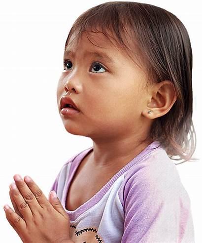 Children God Praying Child