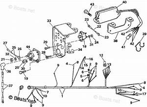 Omc Sterndrive Parts 4 30 Liter Oem Parts Diagram For Engine Wire Harness  U0026 Shift Module  4 3