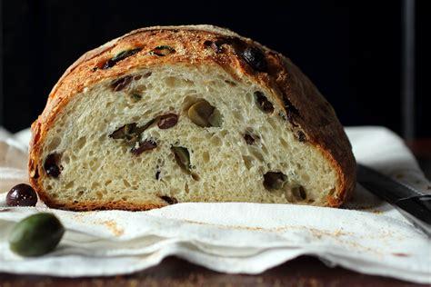 mediterranean olive bread recipe dishmaps