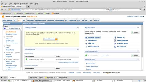 aws management console linux c and other tortures ubuntu on the cloud